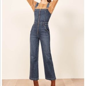 Reformation Other - Nwts Reformation Jenny Jumpsuit overalls zip Sz 6